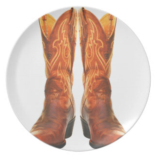 Cowgirl & Cowboy Western Boots Plate