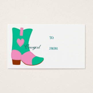 Cowgirl Gift Card