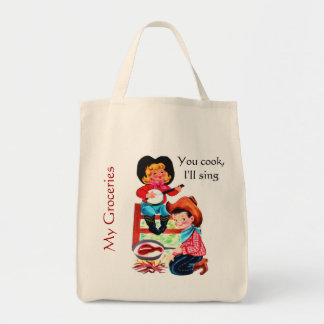 Cowgirl Grocery Tote