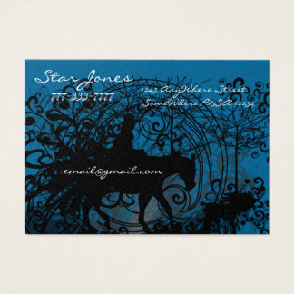 Cowgirl Grunge Business Card