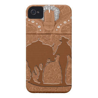 """Cowgirl & Horse"" Western Blackberry Case"