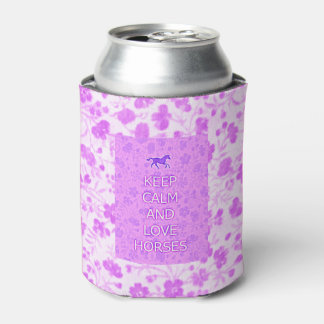 Cowgirl Horses Drink Cooler