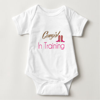 Cowgirl In Training Baby Apparel Baby Bodysuit