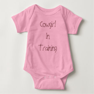 Cowgirl InTraining Baby Bodysuit
