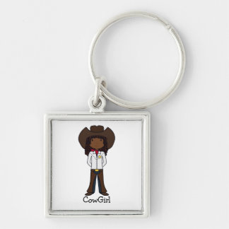 CowGirl Keychain