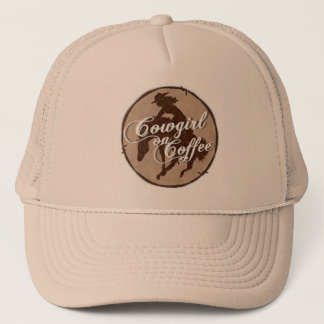 """Cowgirl On Coffee"" Cap"