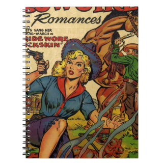 Cowgirl out on the Range Note Books