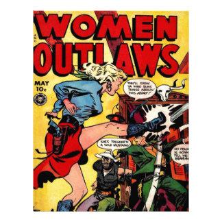 Cowgirl Outlaw Letterhead