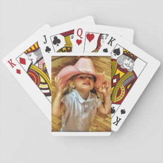 Cowgirl Playing Cards
