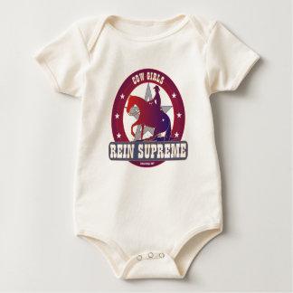 Cowgirl Rein Supreme Infant Organic Baby Bodysuit