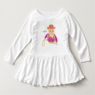 Cowgirl Toddler Dress (caucasian)
