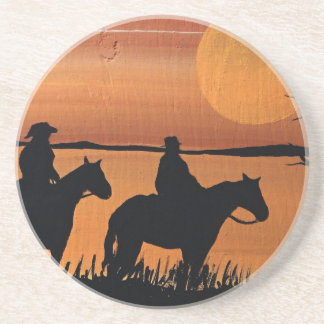 Cowgirls and horses coaster