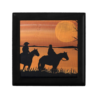 Cowgirls and horses gift box