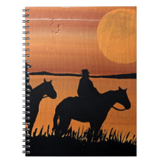 Cowgirls and horses notebooks