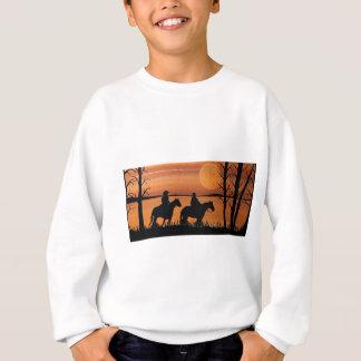 Cowgirls and horses sweatshirt