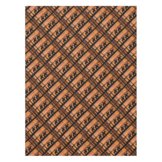 Cowgirls and horses tablecloth