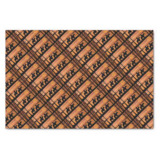 Cowgirls and horses tissue paper