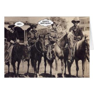 Cowgirls Birthday Card