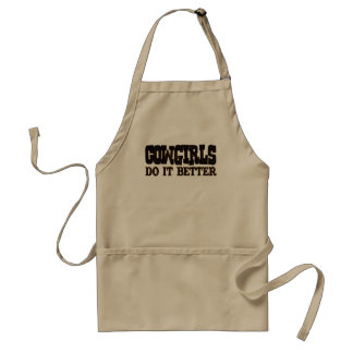 Cowgirls Do it Better Standard Apron