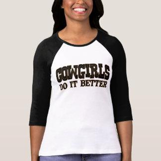 Cowgirls Do It Better T-Shirt