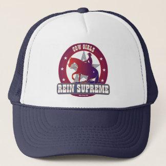 Cowgirls Rein Supreme Adjustable Hat