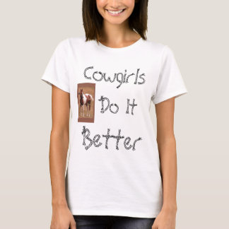 Cowgirls T-shirt