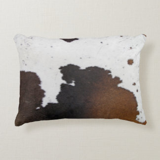 Cowhide Accent Pillow