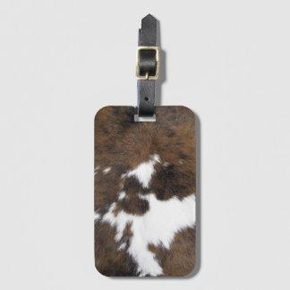 Cowhide Bag Tag