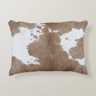 Cowhide Decorative Pillow