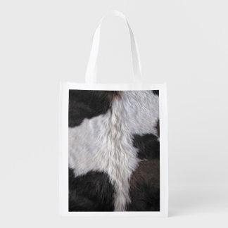 Cowhide Grocery Bags