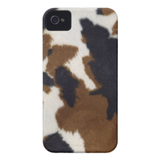 Cowhide Leather Print Pattern iPhone 4 Case