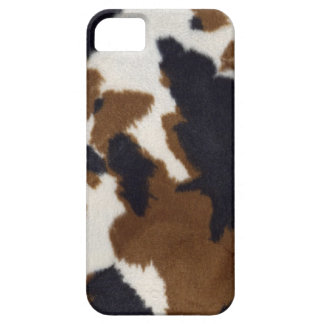 Cowhide Leather Print Pattern iPhone 5 Case For The iPhone 5