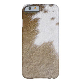 Cowhide Patch Barely There iPhone 6 Case