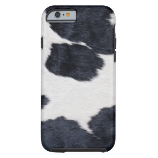 Cowhide Print Tough iPhone 6 Case