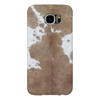Cowhide Samsung Galaxy S6 Cases