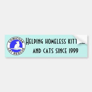 Cowichan Cat Rescue logo Bumper Sticker