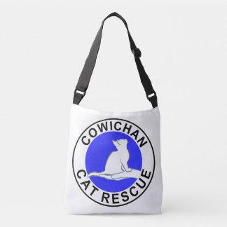 Cowichan Cat Rescue logo Crossbody Bag