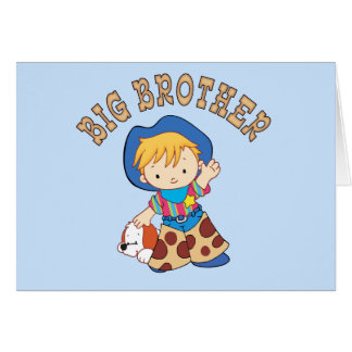 Cowkids Big Brother Note Card