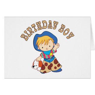 Cowkids Birthday Boy Note Card