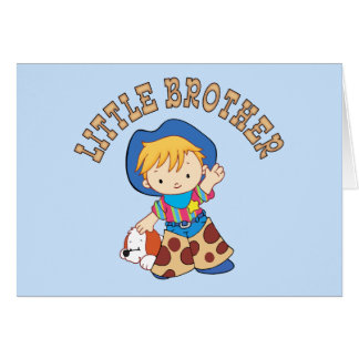 Cowkids Little Brother Note Card