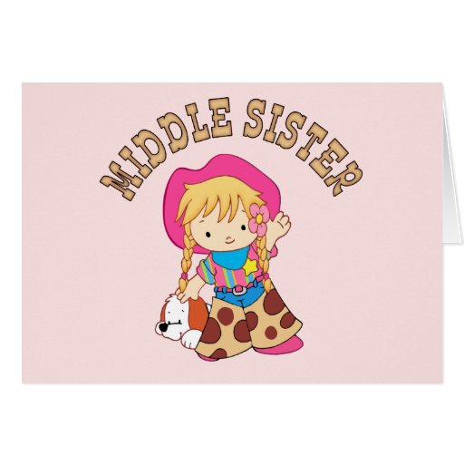 Cowkids Middle Sister Cards