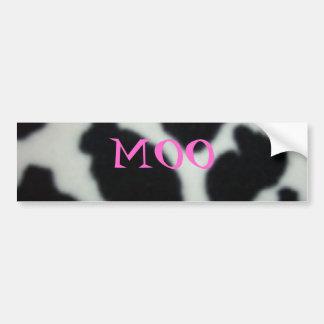 CowPattern, MOO Bumper Sticker