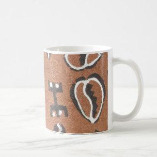 Cowrie Mud Cloth Mug