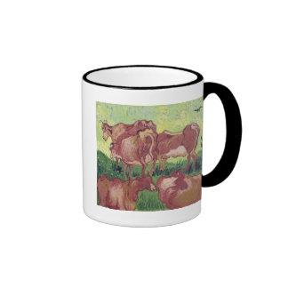 Cows, 1890 coffee mug