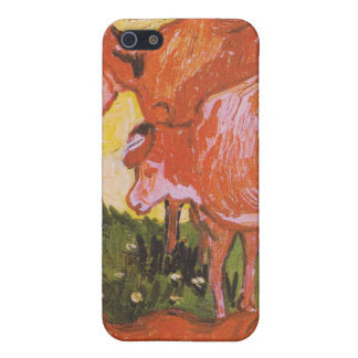 Cows (after Jordaens) by Van Gogh iPhone 5/5S Cover