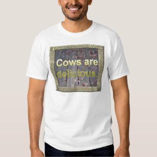 Cows Are Delicious Tshirt