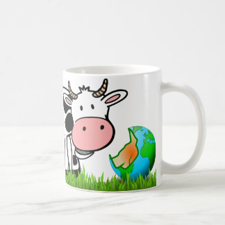 Cows are destroying the earth! Eat More Meat! Coffee Mug