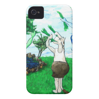 Cows in Skirts and Dresses Case-Mate iPhone 4 Cases