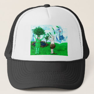 Cows in Skirts and Dresses Trucker Hat