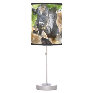 Cows in the Field Desk Lamps
